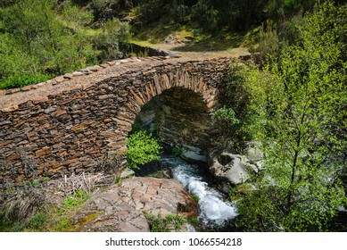 A bridge made of stones