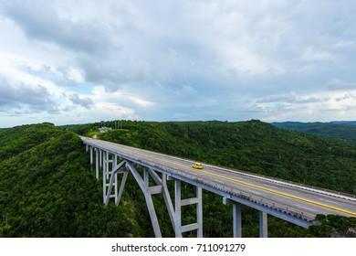 Bridge to Matanzas Cuba