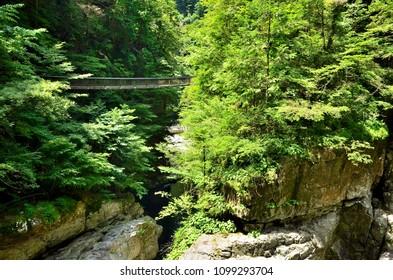 Bridge of the Mitarai ravine