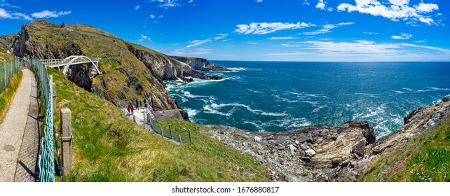 The bridge at Mizen Head, the southern most cape of Ireland.