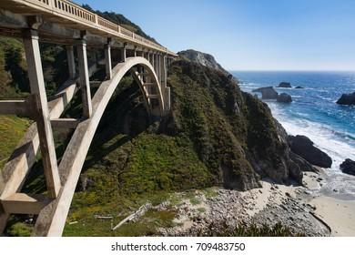 Bridge in the mountain