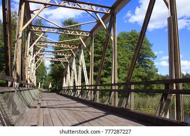 bridge in nature smaland sweden
