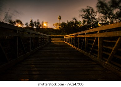 Bridge at night time