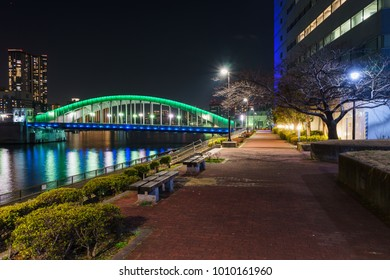 Bridge night view in Japan  - Shutterstock ID 1010161960