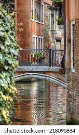 Bridge on a Canal in, Venice