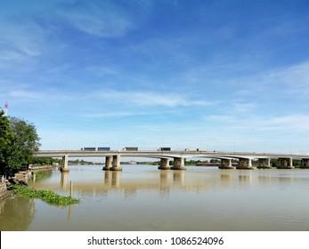 the bridge on the river, thailand