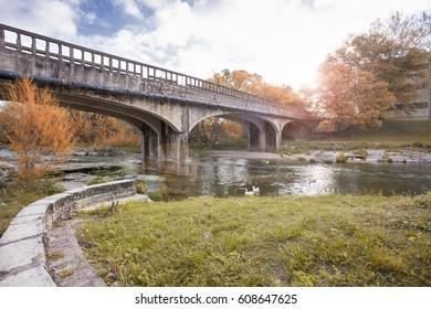 Bridge on a Sunny Day