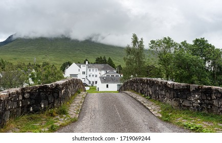 The bridge of orchy in Argyll and Bute   in the central highlands of Scotland, United Kingdom