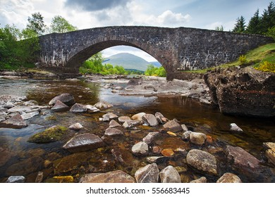 Bridge of Orchy on the famous West Higland Way, Scotland