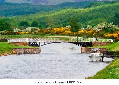 Bridge over Caledonian canal