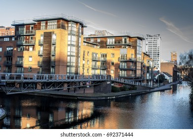 Bridge over canal in Birmingham