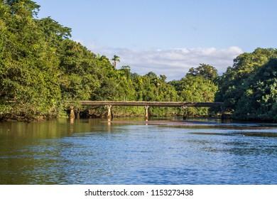 bridge over Daintree river