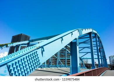 bridge over keihin canal shinagawa tokyo