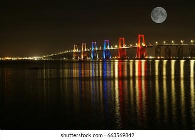 Bridge over the lake of maracaibo