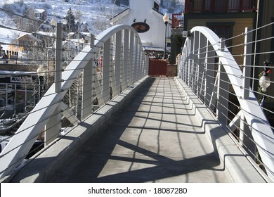 Bridge over main street, Park City, Utah