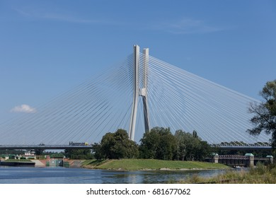 bridge over the Oder Wroclaw
