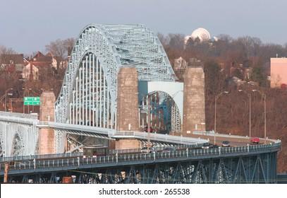 Bridge over the Ohio River.