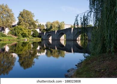 Bridge over the river of Limoges, France