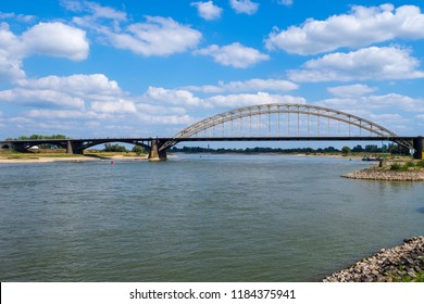 Bridge over the river Waal in Nijmegen/NL