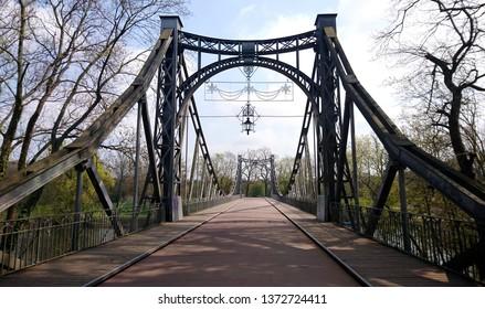 Bridge over the Saale in Halle