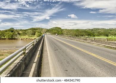 Bridge over the Tarcoles River, Costa Rica