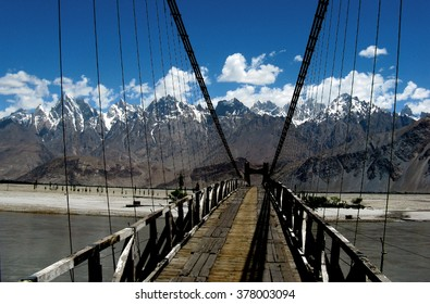 Bridge in Pakistan.