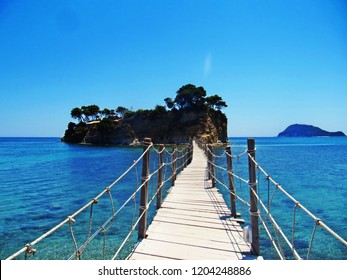 the bridge to paradise - Laganas