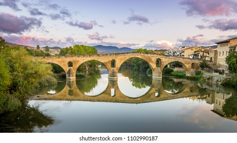 The Bridge at Puente la Reina , Spain