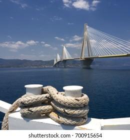Bridge of Rio - Antirio, Greece/ The bridge