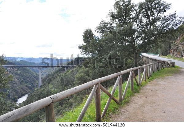 Bridge, river