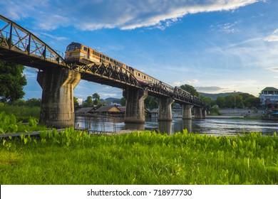 The Bridge of the River Kwai Kanchanaburi in Thailand