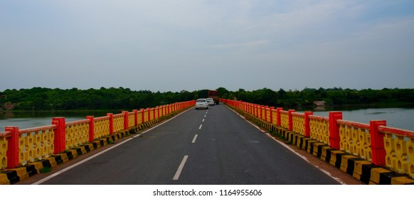 A bridge for road transport near to Jhansi city Uttar Pradesh India
