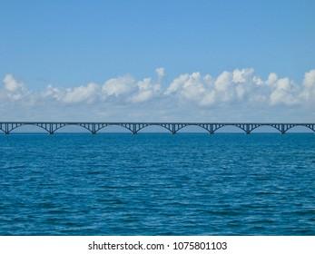 Bridge in Samana Bay, Republica Dominicana