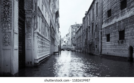 The Bridge of Sighs in Venice Italy artistic conversion afternoon