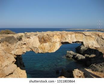 The bridge sinners in Cyprus