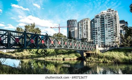 Bridge skyline