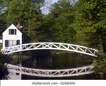 Bridge in Somesville, Mount Desert Island, Maine