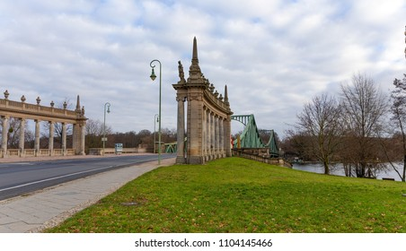 The Bridge of Spies (Glienicke Bridge), Berlin, Germany.