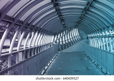 bridge steel curve design connect building overlay color innovation