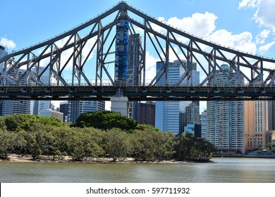The bridge story bridge spanning the Brisbane River