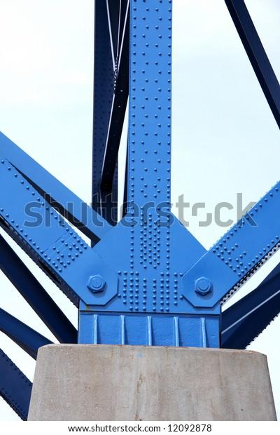Bridge support beams