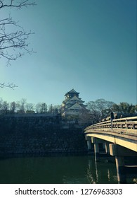 The bridge that crosses to the Japanese castle