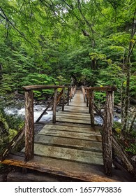 bridge in torres del Paine national park