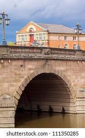 bridge in town