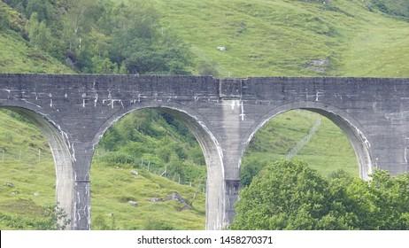 A bridge for a train.