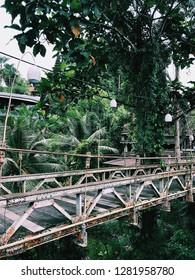 Bridge. Ubud, Bali, Indonesia.