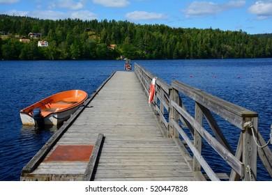 Bridge at the viaduct in Haverud, Sweden