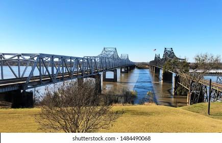 Bridge in Vicksburg, Mississippi, USA