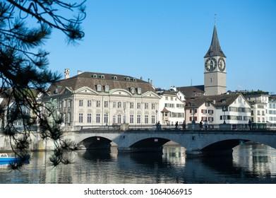 Bridge in Zurich