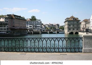 Bridge in Zurich, Switzerland